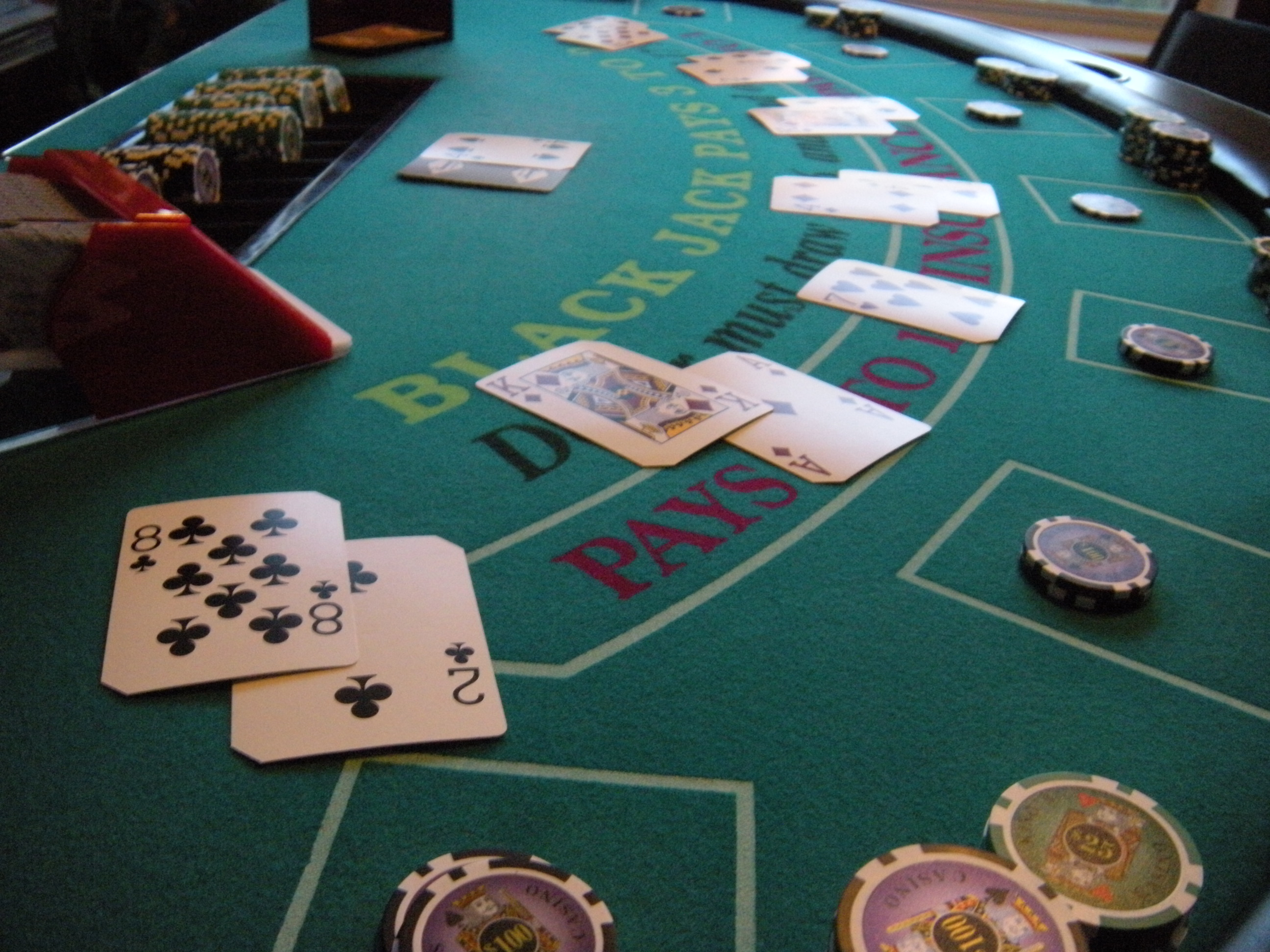 Blackjack in the casino casino net income